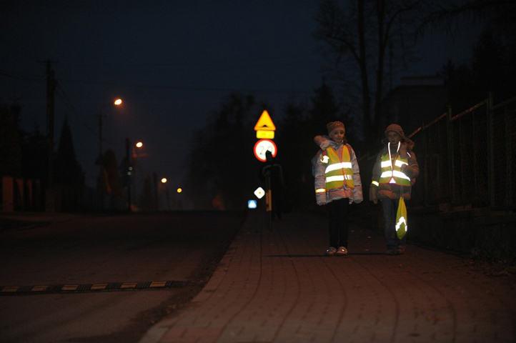 Odblaski dla pieszych i dzieci