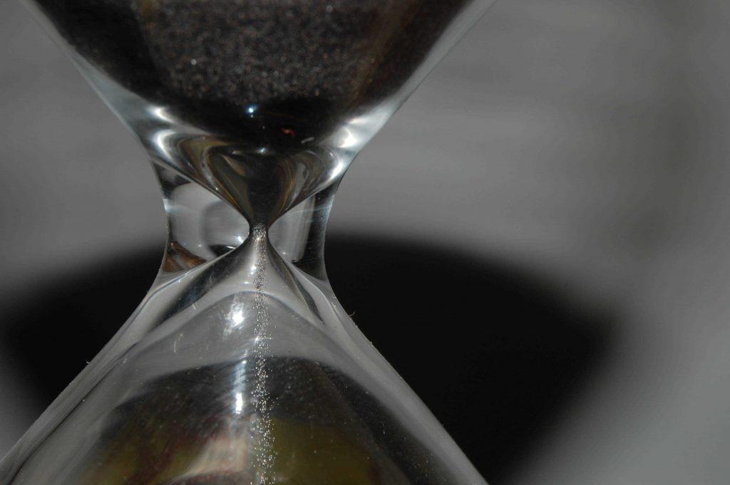 klepsydra - uciekający czas