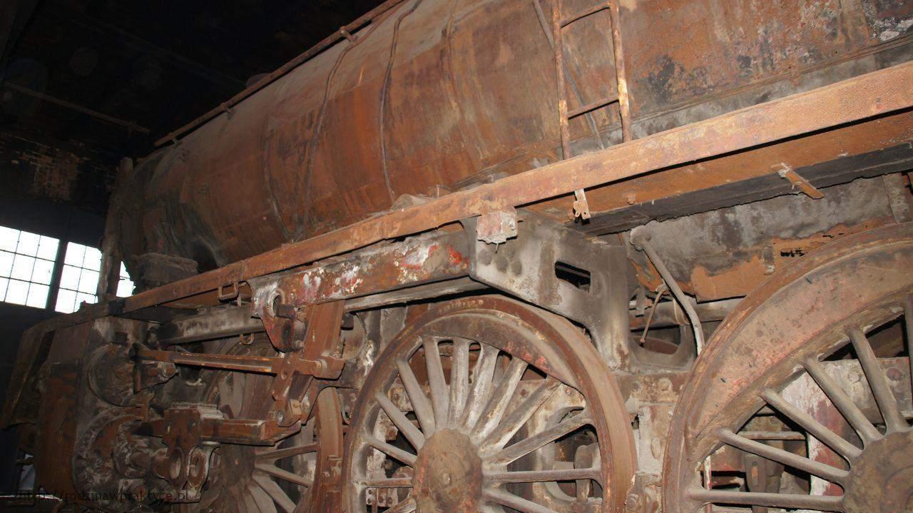 Ta lokomotywa będzie remontowana