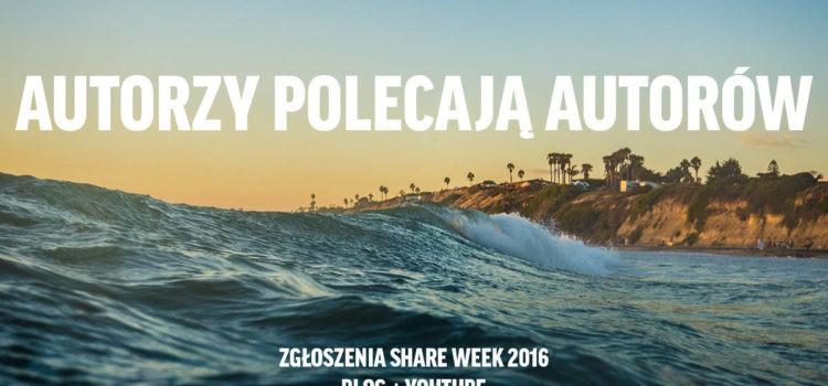 Share Week 2016 – dzielmy się tym, co najlepsze